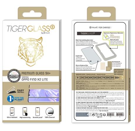 Film Tiger Glass+ OPPO FIND X2 LITE transparente