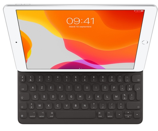 Smart Keyboard iPad 10.2 2019 / iPad Air 10.5 noir