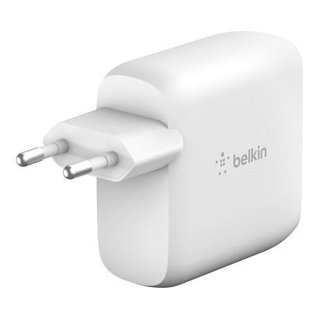 Chargeur secteur Belkin USB C 63W blanc