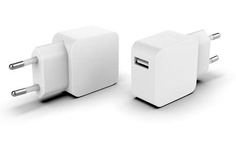 Chargeur secteur 3A USB-C blanc