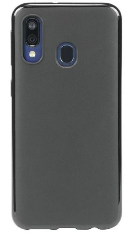 Coque T series Galaxy A40 noir