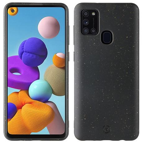 Coque Bambootek Galaxy A21s noir