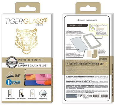 Film Tiger Glass+ Galaxy A51 5G transparente