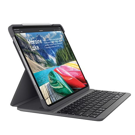Etui Slim Folio pro iPad Pro 11 pouces (2e génération) noir