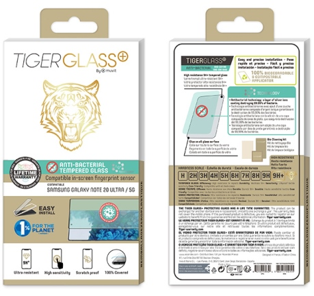 Film Tiger Glass+ Galaxy Note20 Ultra 5G transparente