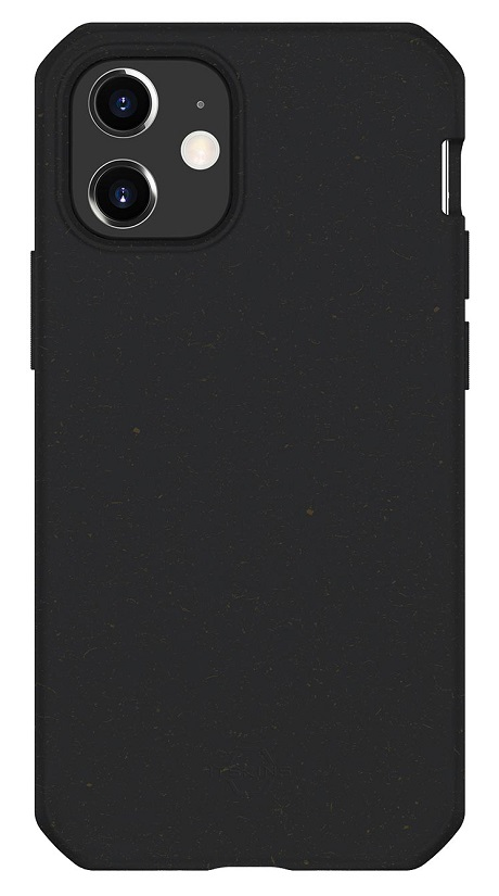 Coque renforcée FERONIABIO Terra iPhone 12 noir