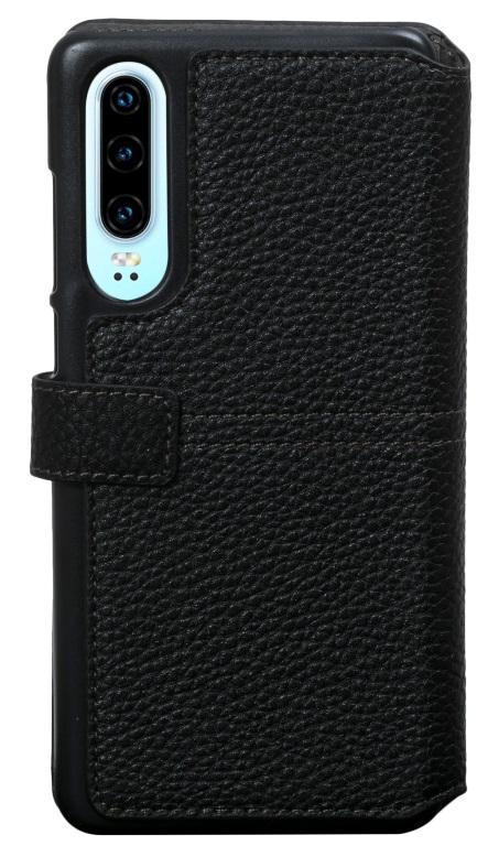 Etui folio Façonnable Huawei P30 noir