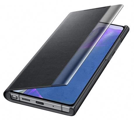 Clear View Galaxy Note20 5G noir