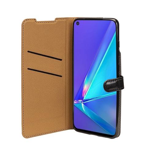 Etui folio wallet Samsung A51 noir