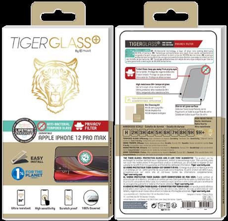 Film Tiger Glass+ privacy iPhone 12 Pro Max