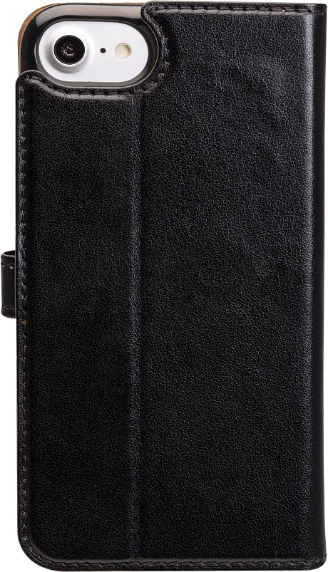 Etui folio Wallet iPhone SE noir
