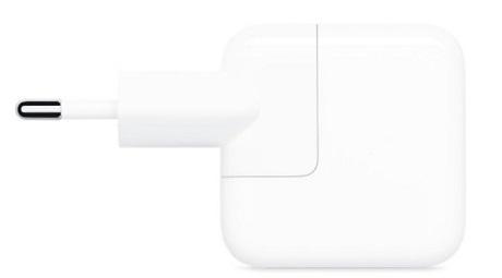 Tête de charge USB-A 12W Apple blanc