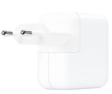Tête de charge rapide USB-C Apple 30W blanc