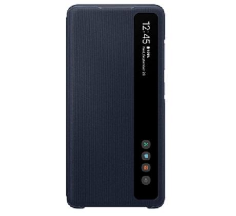 Clear View Samsung S20 FE bleu marine