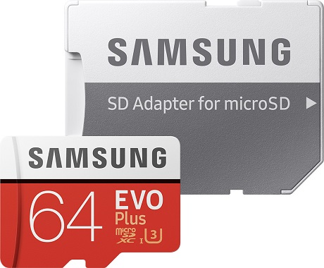 Carte Micro SD Samsung 64GO V2