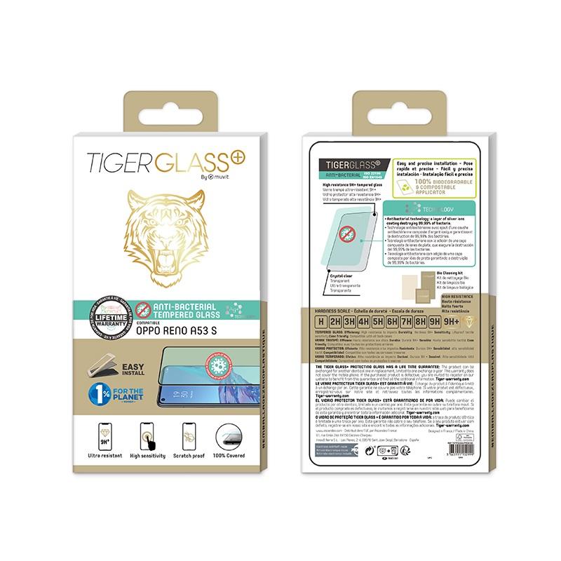 Film Tiger Glass+ Oppo A53s transparente