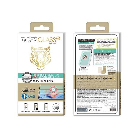 Film Tiger Glass+ Oppo Reno4 Pro transparente