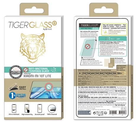 Film Tiger Glass+ Xiaomi Mi 10 T Lite transparente
