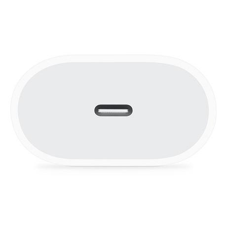 Tête de charge USB-C 20W Apple blanc
