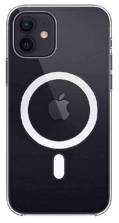 Coque transparente avec MagSafe pour iPhone 12 / 12 Pro