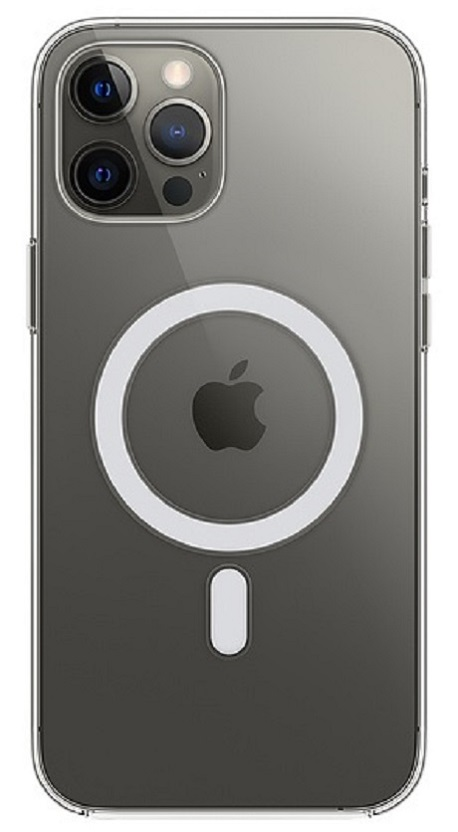 Coque transparente avec MagSafe pour iPhone 12  Pro Max