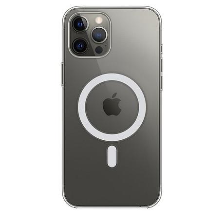 Coque avec MagSafe pour iPhone 12  Pro Max transparente