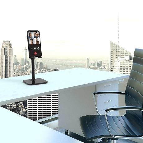 Support ergonomique de bureau pour smartphone Port Designs