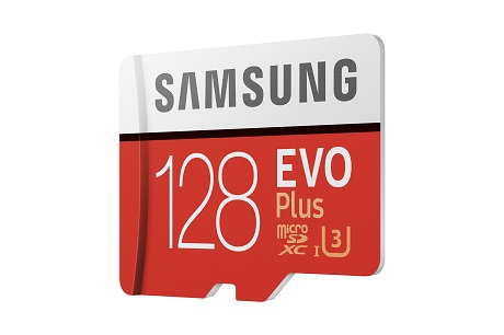 Carte Micro SD EVO PLUS Samsung avec adaptateur SD 128 Go