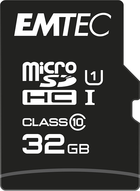 Carte Micro SD EMTEC 32 GB