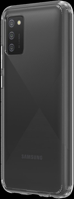 Coque Hybrid QDOS Samsung Galaxy A02 transparente