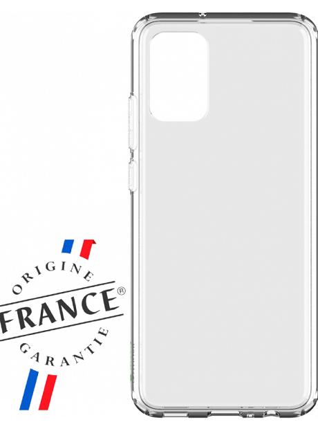 Coque renforcée Made in France Samsung Galaxy A02 transparente