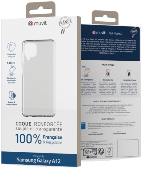 Coque renforcée Made In France Samsung Galaxy A12