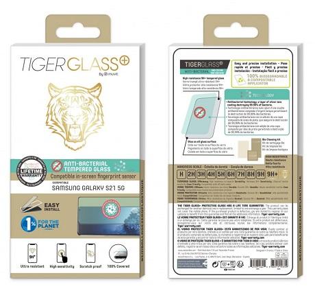 Film Tiger Glass+ Samsung Galaxy S21 5G transparente