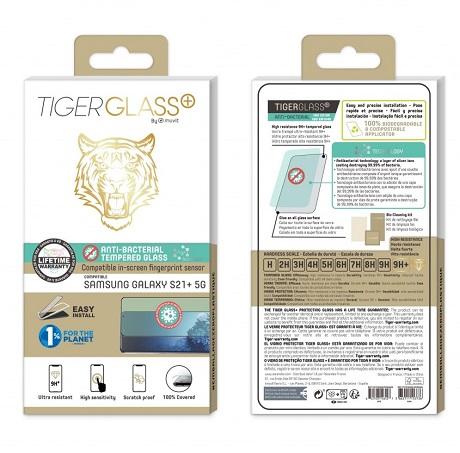 Film Tiger Glass+ Samsung Galaxy S21+ transparente