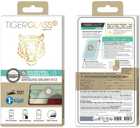 Film Tiger Glass+ Samsung Galaxy A12 transparente
