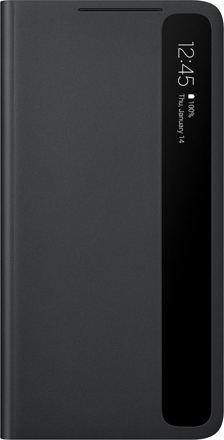 Clear View Galaxy S21 ultra avec pencil noir