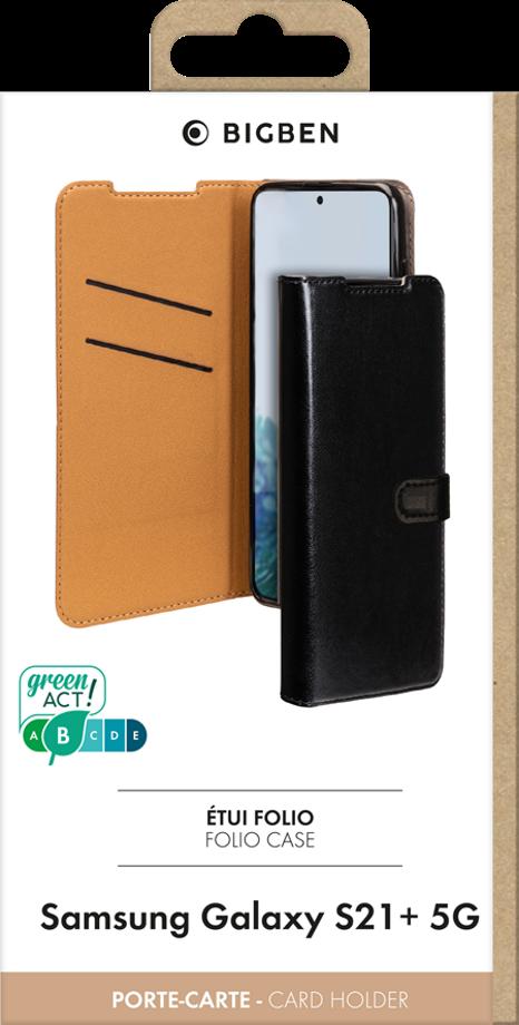 Etui folio Wallet Samsung Galaxy S21+ noir