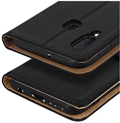 Etui folio Wallet Samsung Galaxy A02 noir