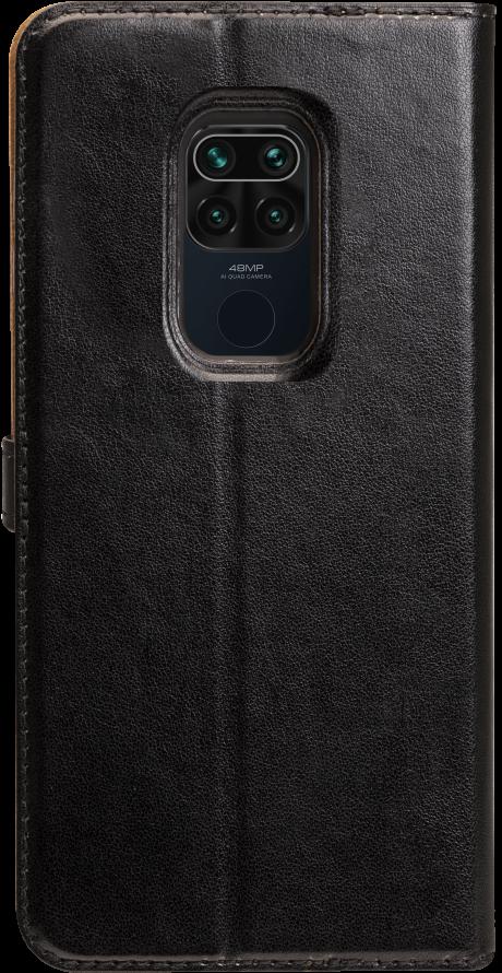 Etui folio Wallet Xiaomi Redmi Note 9T 5G noir