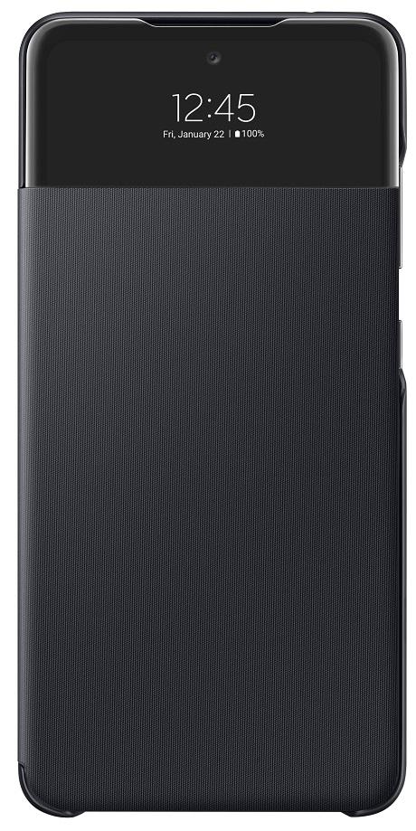 Etui Led View Galaxy A52 5G noir