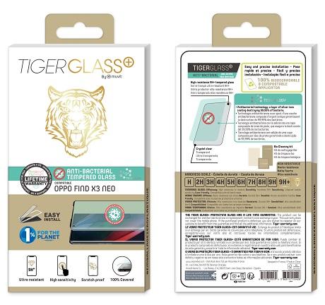 Film Tiger Glass+ Oppo Find X3 Neo 5G transparente