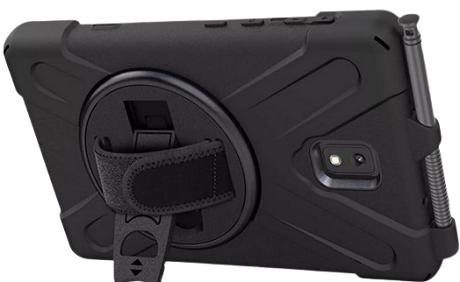 Coque renforcée ALLincase Galaxy Tab Active3 EE noir