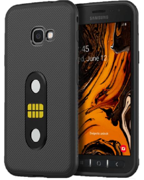 POGO Case Galaxy Xcover 4s noir