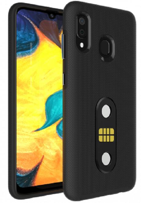 POGO Case Galaxy A02s noir