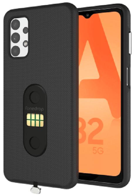 POGO Case Galaxy A32 5G noir