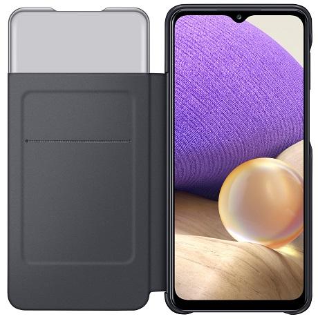 Etui folio S View pour Samsung Galaxy A32 EE 4G noir