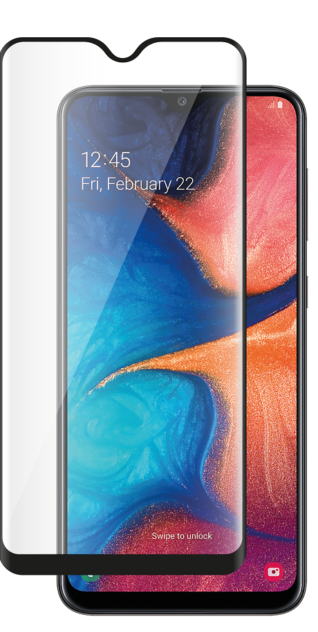 Film de verre trempé Samsung Galaxy A20E transparente