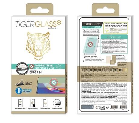 Film Tiger Glass+ Oppo A94 5G transparente