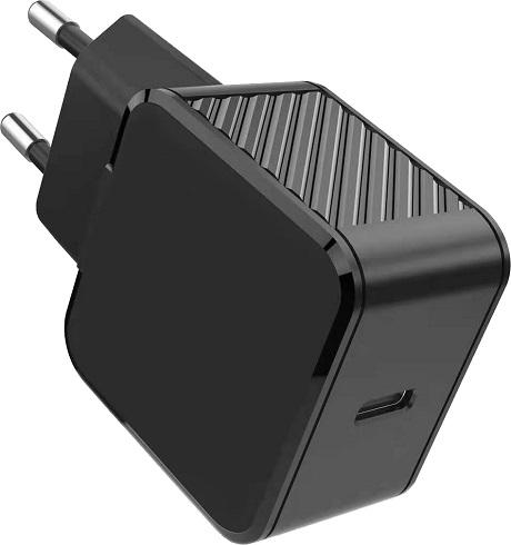 Chargeur secteur USB/C 25W noir