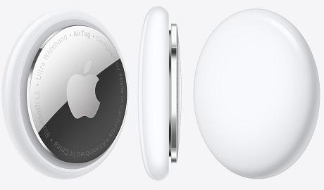 AirTag-pack de 1 blanc/argent
